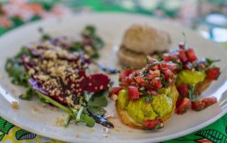 Food served at Surfasana Surf and Yoga Retreats 3