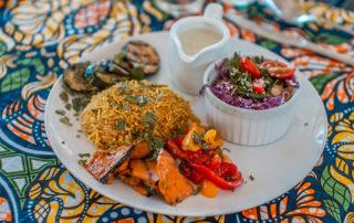 Food served at Surfasana Surf and Yoga Retreats 4