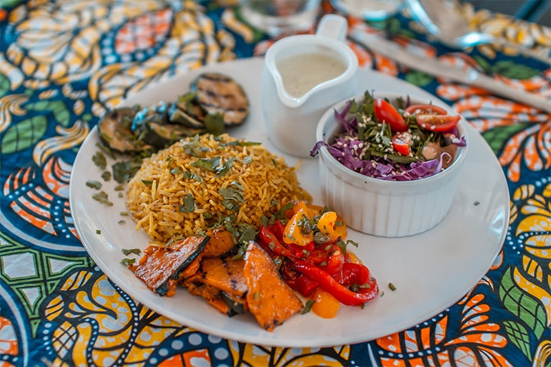 Food served at Surfasana Surf and Yoga Retreats 4